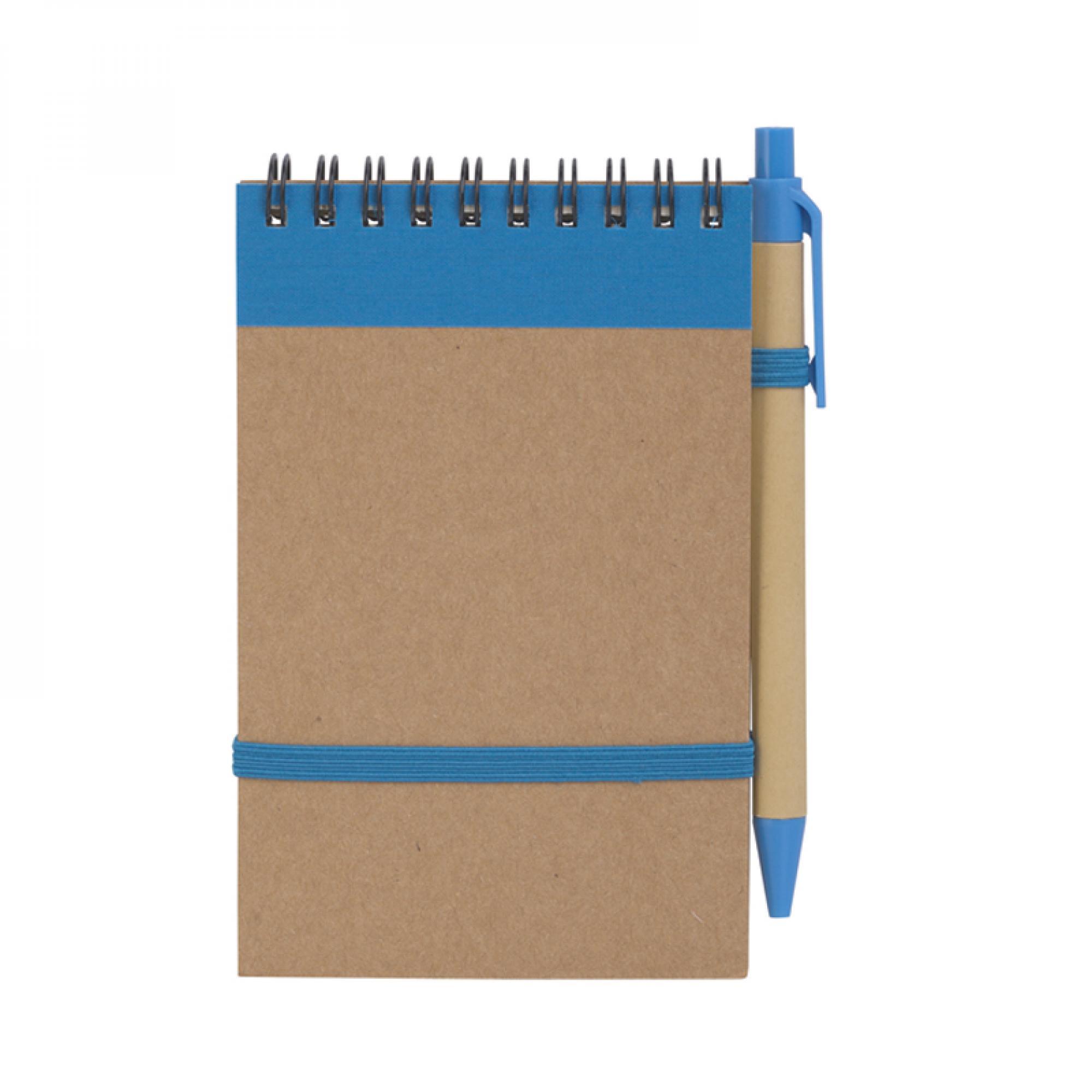 """Блокнот с ручкой """"Papyrus"""", цвет синий, арт. 1381-2 в каталоге """"Океан бизнес сувениров"""" для оптовых заказов"""