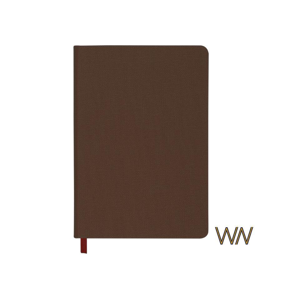 """Блокнот """"Вкус кофе""""  с ароматом кофе, в линейку, A5, цвет коричневый, арт. 3817-9 - вид 1 из 1"""