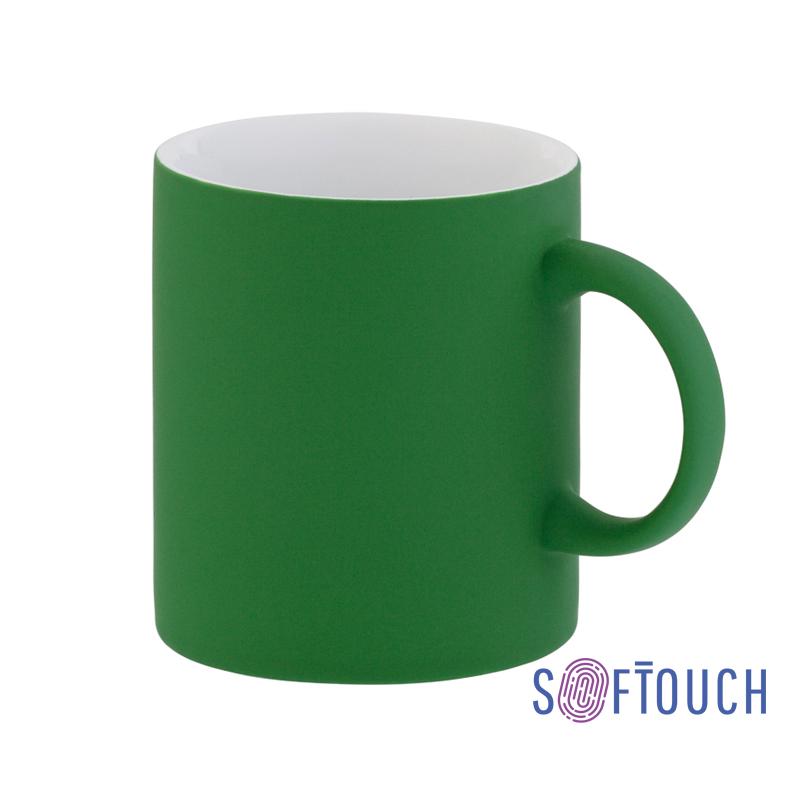Кружка с покрытием soft touch