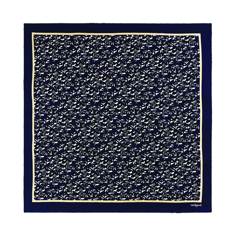 Платок шейный Colombes Bleu