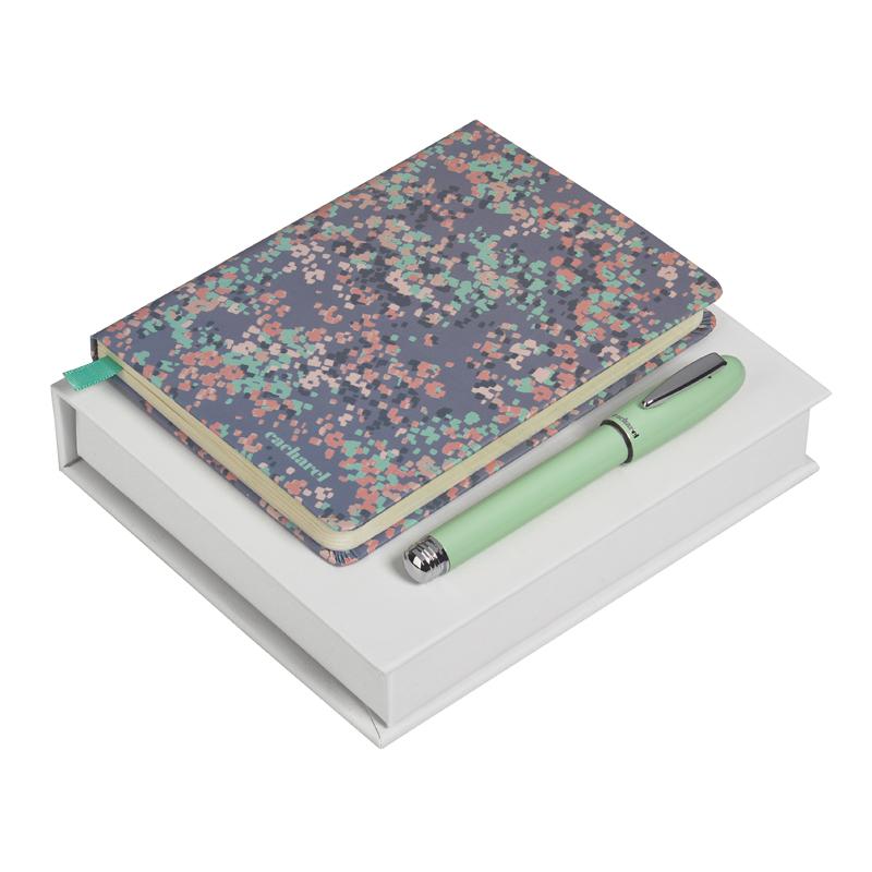 Набор (записная книжка, ручка роллер) Цвет