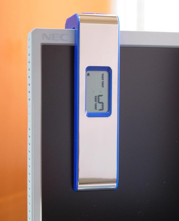 Часы для компьютерного монитора