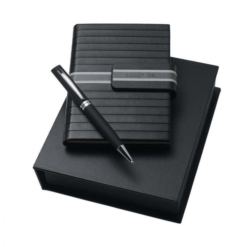 Набор Central (записная книжка, ручка шариковая)