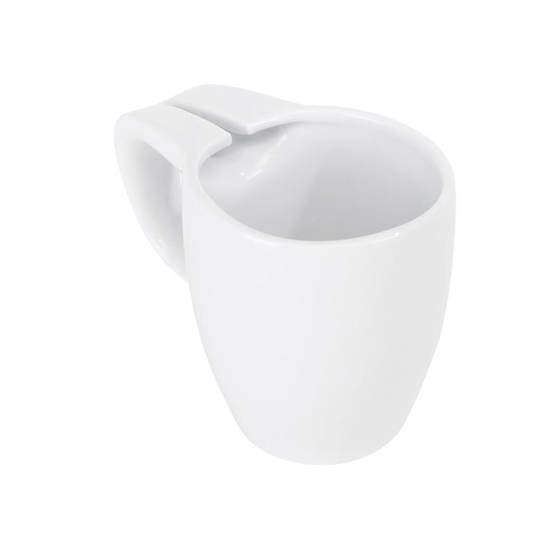 Кружка керамическая 0,3 л Цвет белый