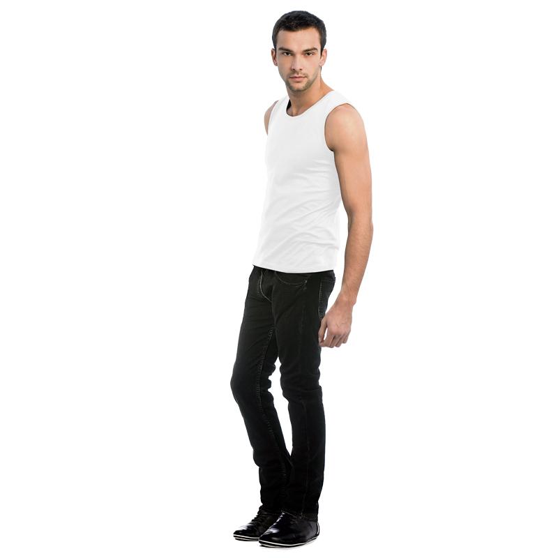 Майка спортивная Athletic Move Цвет черный Размер XL Цвет белый Размер L