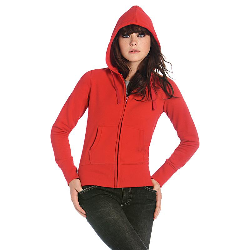 Толстовка женская на молнии Hooded Full Zip/women