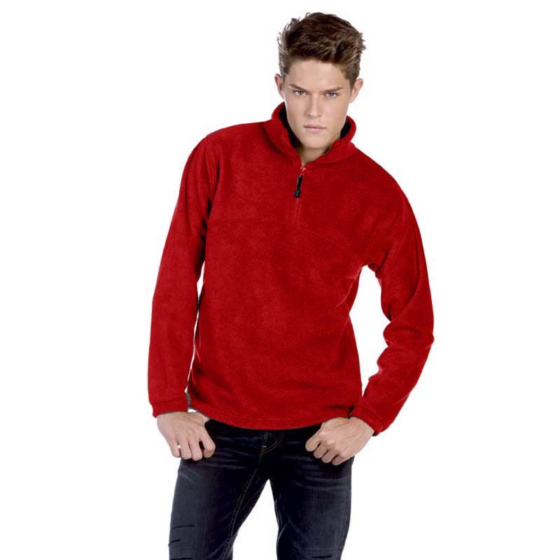 Куртка мужская флисовая Highlander+ Цвет графит Размер L Цвет красный Размер L