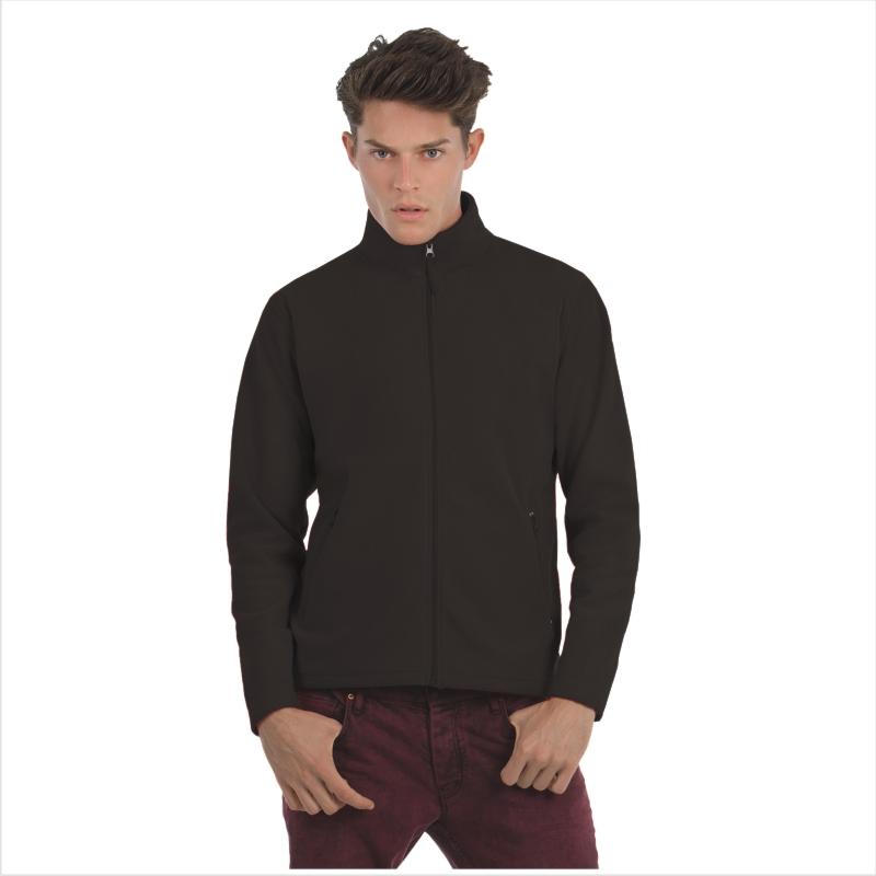 Куртка флисовая ID.501 Цвет черный Размер M