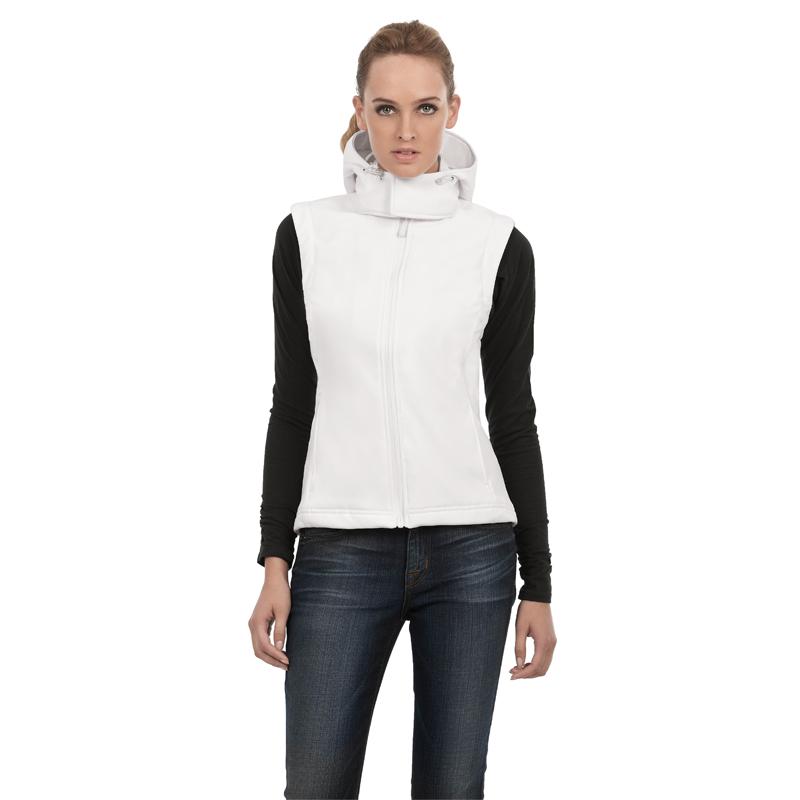 Жилет женский с капюшоном Hooded Softshell Gilet/women