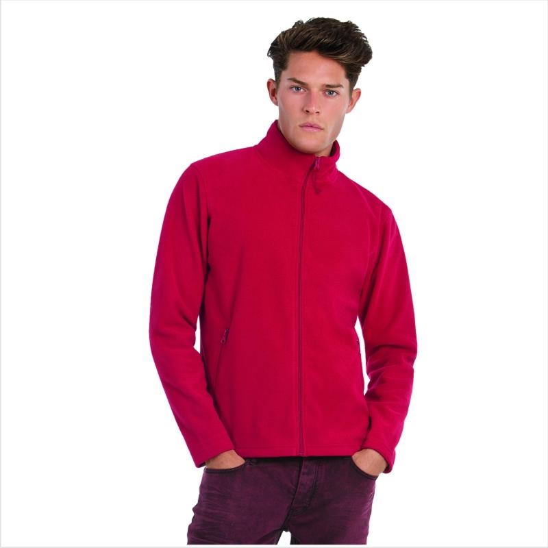 Куртка флисовая ID.501 Цвет черный Размер M Размер L Размер XL Цвет ярко-бирюзовый Размер XL Цвет темно-синий Размер M Цвет красный Размер M