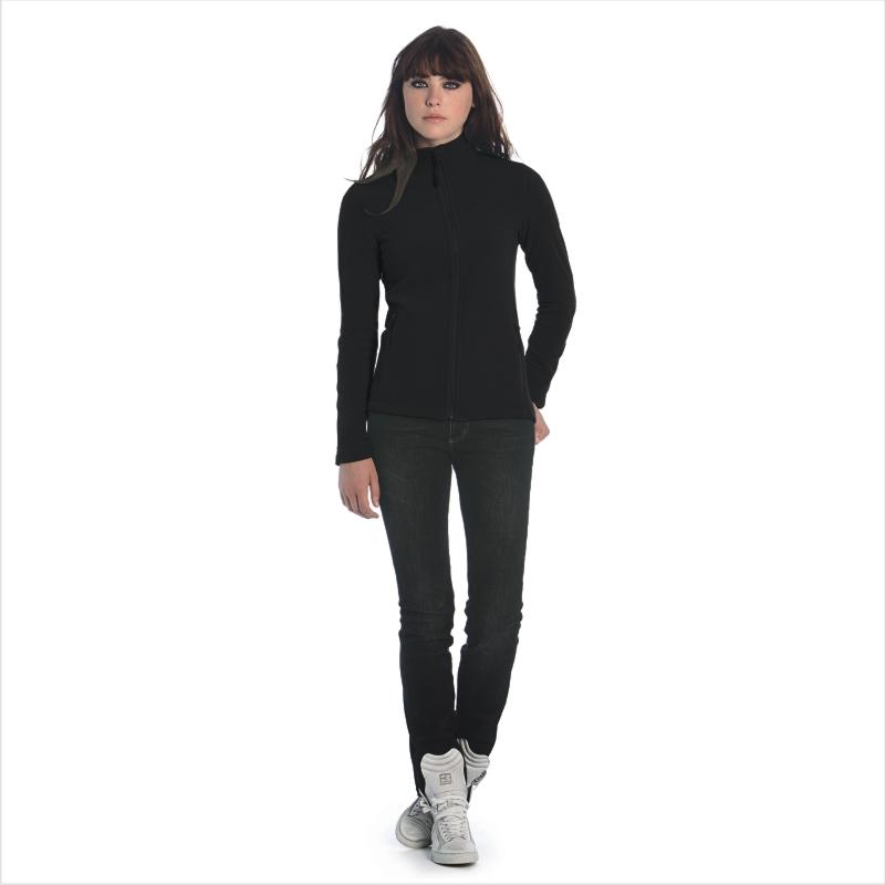 Куртка флисовая женская Coolstar/women Цвет темно-красный Цвет черный Размер XS