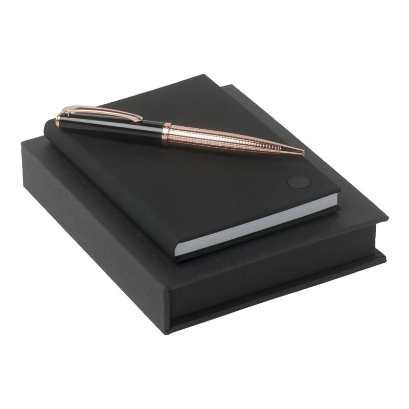 Набор (записная книжка, ручка шариковая)
