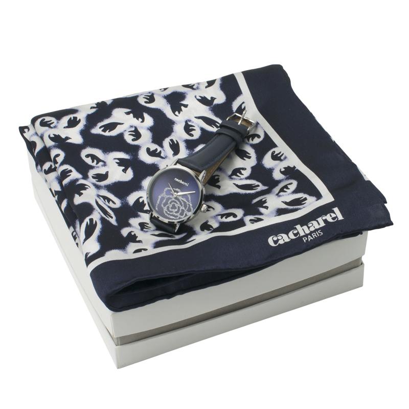 Набор (платок шейный, часы наручные)