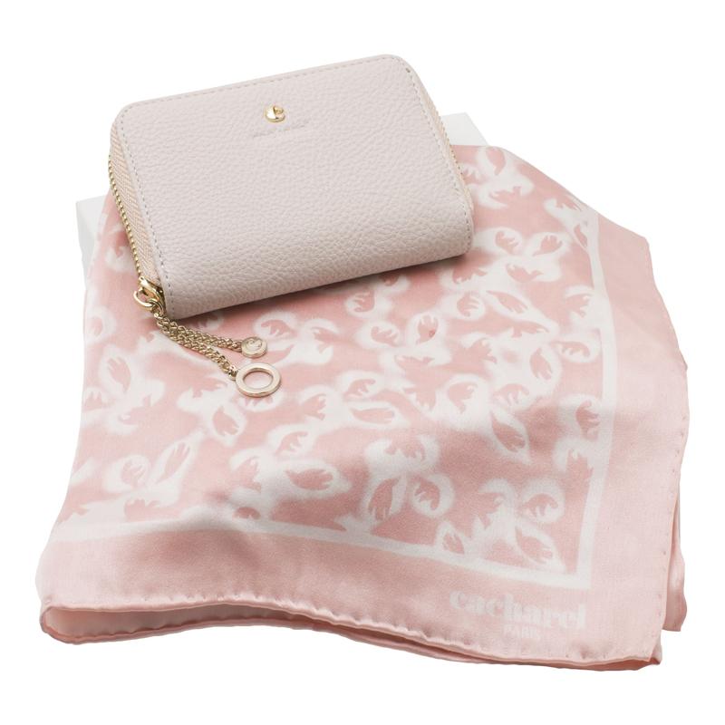 Набор (платок шейный, портмоне дамское)