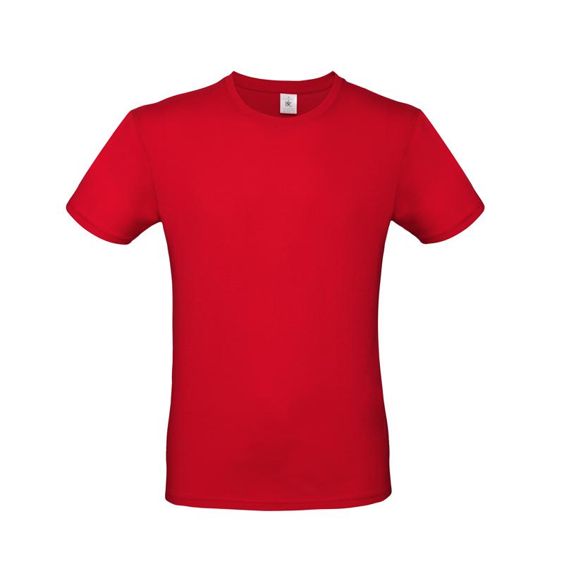 Образец футболки E150, красная/red, размер L