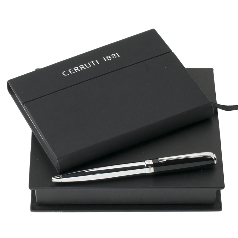 Набор (записная книжка А6, шариковая ручка)